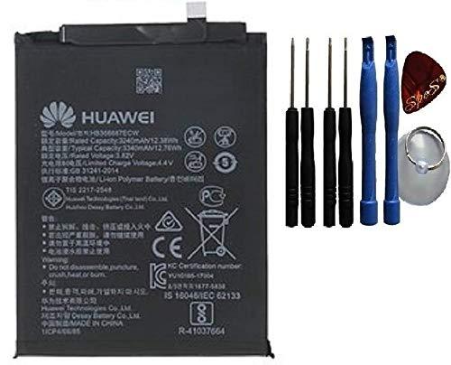 SPES Akku für Huawei Honor 7X Ersatz Akku Batterie 3340mAh HB356687ECW / SPES Werkzeug