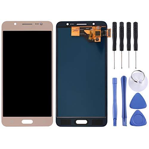 ZZjingli Repairparts Schermo LCD (TFT) + Touch Panel for Samsung Galaxy J5 (2016) / J510, J510FN, J510F, J510G, J510Y, J510M (Nero) (Oro) (Bianco) (Color : Gold)