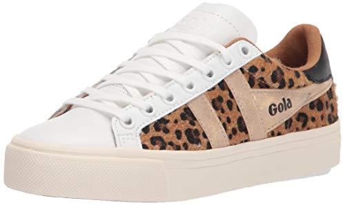 Gola Orchid II Africa, Zapatillas para Mujer, Leopardo Blanco Dorado, 37 EU