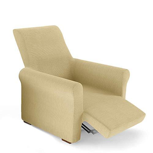 PETTI Artigiani Italiani Sesselüberwurf, Textil, Sand, Sessel von 80 bis 100 cm