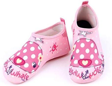 MULINSEN Toddler Kids Water Shoes Barefoot Quick-Dry Aqua Yoga Outdoor Beach Surfing Swim Aqua Shoes for Kids Boys Girls