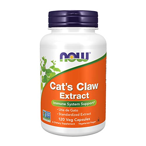 Now Foods Suplemento Alimenticio Cat'S Claw Extract - 120 Cápsulas