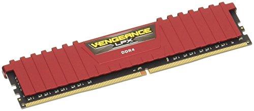 Corsair Vengeance LPX 8Go 1x8Go DDR4 2666MHz C16 XMP 2.0 Kit de Mémoire Haute Performance Red