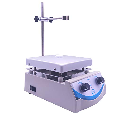 SH-3 Hot Plate Magnetic Stirrer 5000ml Volume with Dual Control and 1 Inch Stir Bar