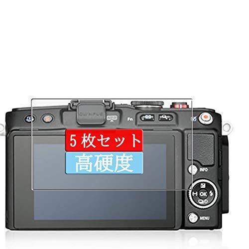 5枚 Sukix フィルム 、 オリンパス OLYMPUS PEN E-PL6 向けの 液晶保護フィルム 保護フィルム シート シール(非 ガラスフィルム 強化ガラス ガラス )