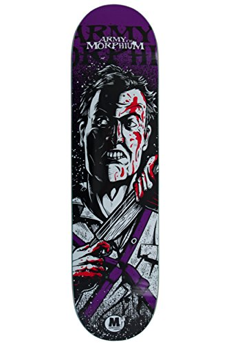Morphium Skateboards Deck Ash 7.75 inkl. Grip