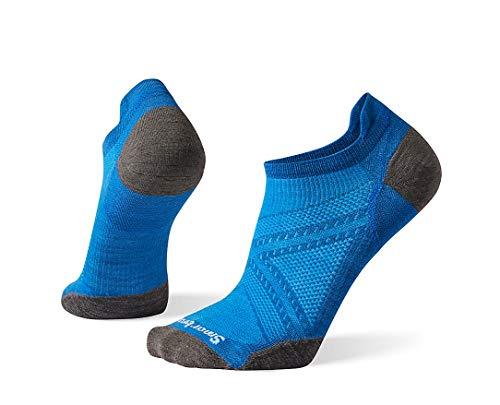 Smartwool PhD Run Ultra Light Micro Calcetines de atletismo, Neptuno Azul, XL para Hombre