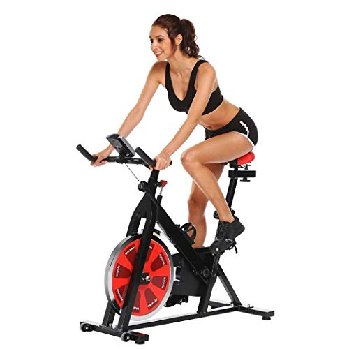 Read About Man-hj Home Exercise Bike Spinning Bike Fitness Equipment Ultra-Quiet Indoor Weight-Beari...