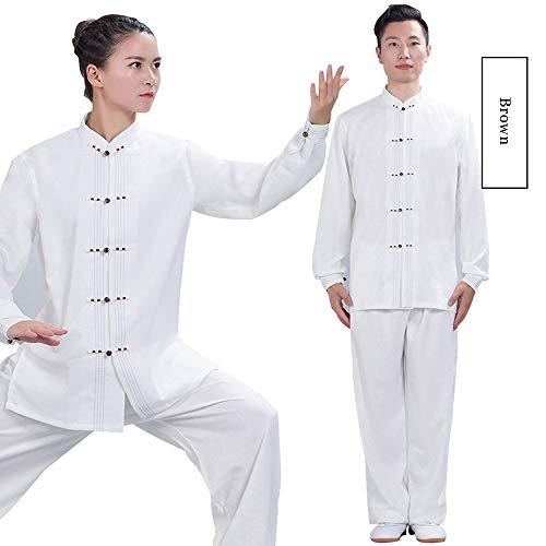 JTKDL Tai Chi Bekleidung Damen Frühjahr Und Herbst Tai Chi Boxsport Bekleidung Herren Martial Arts Bekleidung,B-L