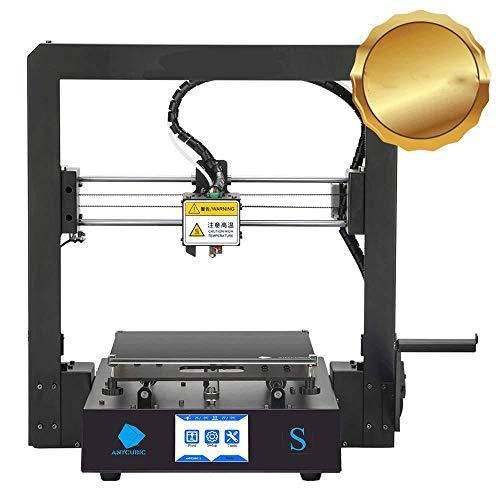 CIJK Impresora 3D, Impresora Wi-Fi De Impresión Doméstica, Diseño Estable Tamaño De Impresión 210 X 210 X 205 Mm, Negro