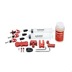 KEEP YOUR BICYCLE BRAKES WORKING WELL- Breathe new life into your bike's hydraulic disc brakes. REJUVENATE ROAD & MOUNTAIN BIKE BRAKES- With a fresh pump of DOT 5:1 brake fluid. Kit contains 120mL DOT hydraulic fluid. KIT CONTAINS- Two bleed syringes...