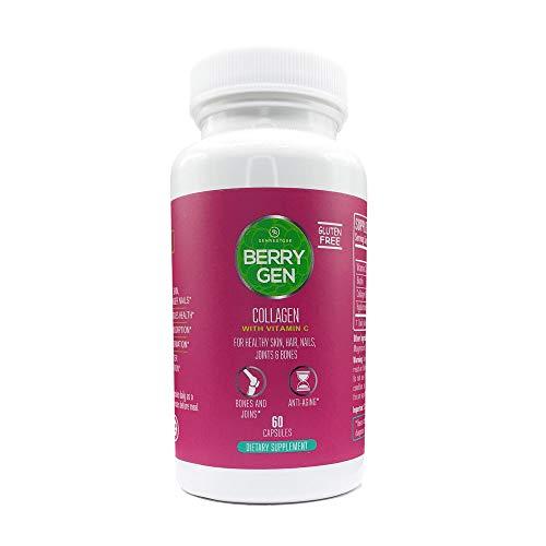 Berry Gen Restore CAPS Dual Action Collagen & Antioxidants, Grass-Fed Collagen Peptides, Great Tasting, Easy to Mix Powder. Colageno Hidrolizado Colageina. (2)
