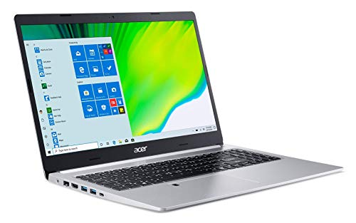 Acer Aspire 5 A515-44-R93G, 15.6' Full HD, AMD Ryzen 3 4300U Mobile Processor with Radeon Graphics, 4GB DDR4, 128GB NVMe SSD Windows 10 S (Renewed)