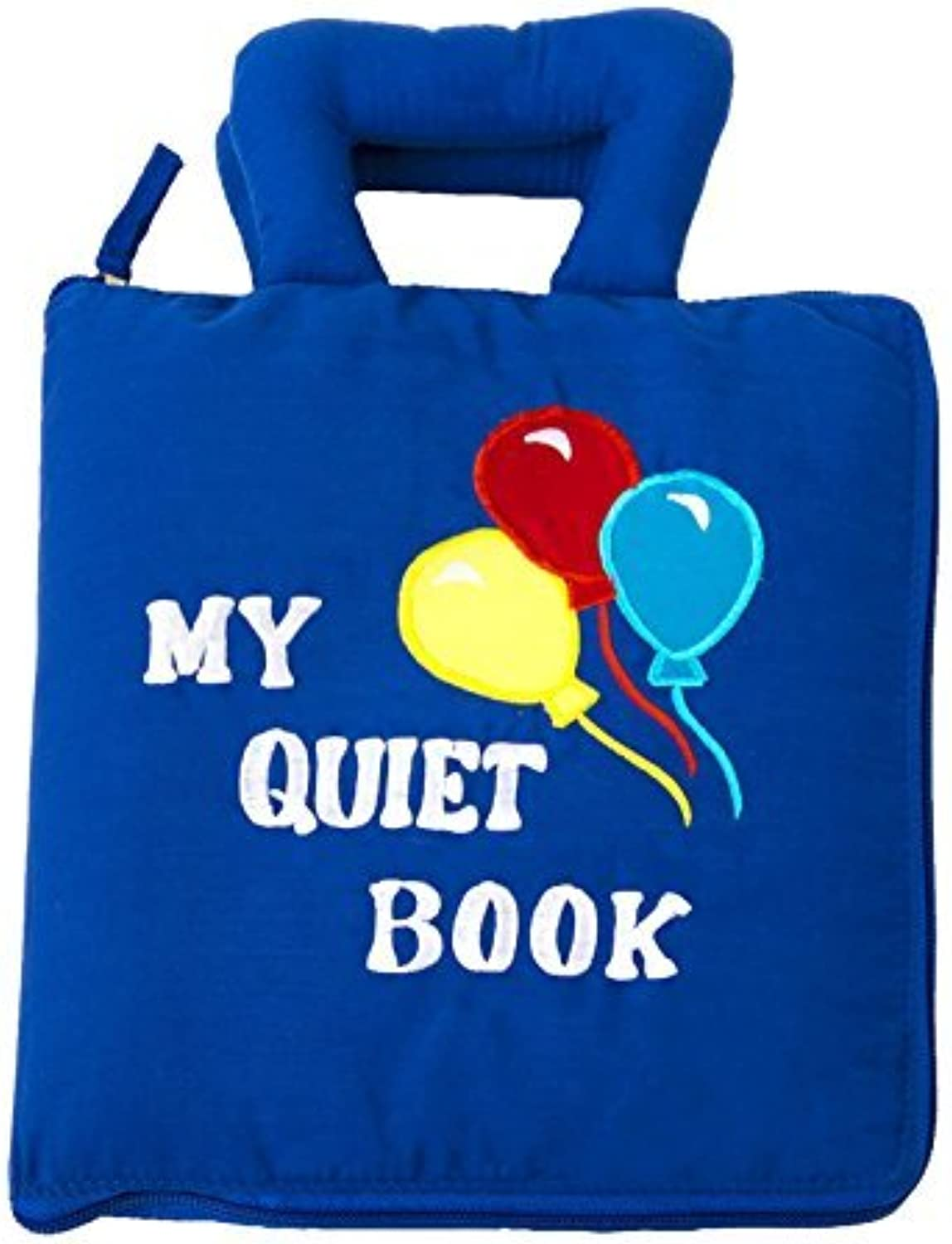 CP Toys Interactive Sensory Quiet Book - Features 8 Skill-Building Activities - Safe, Fun, and Educational For All Ages by Constructive Playthings