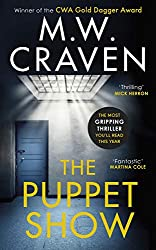 book cover of The Puppet Show by M. W. Craven
