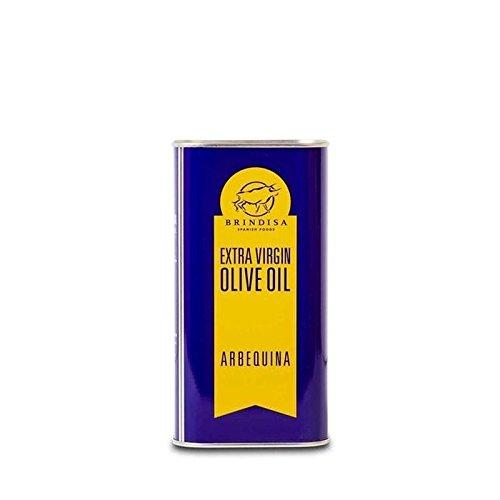 Brindisa Arbequina Olive Extra Vierge 1L D'Huile - Paquet de 2