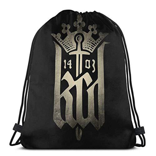 JS-BA Kingdom Come Deliverance Sport Sackpack Zaino con Coulisse Sacca Borsa da Palestra