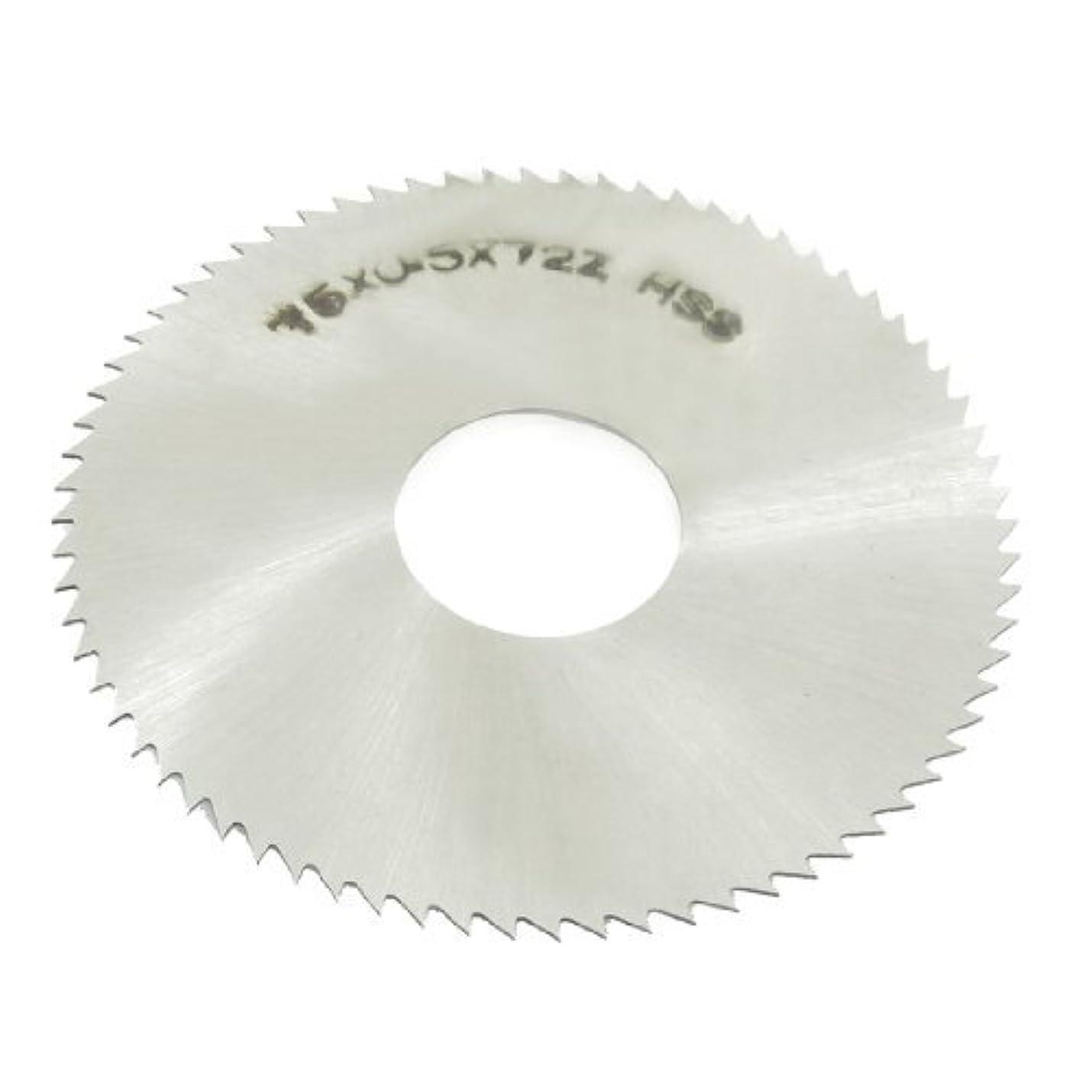 HSS 75ミリメートル径0.5ミリメートル厚さ72歯円形フライスソウ
