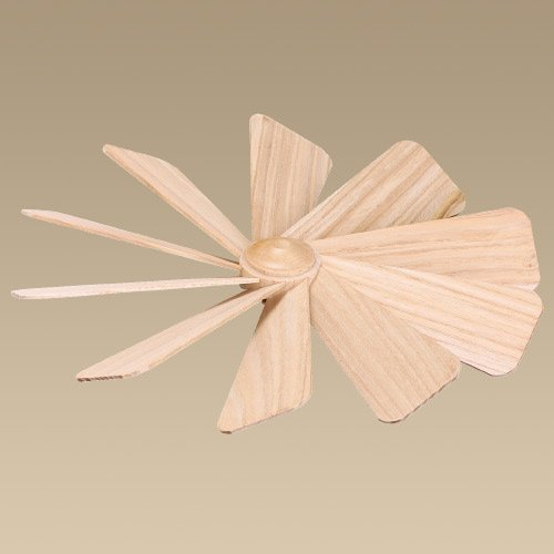 Rudolphs Schatzkiste Ersatzteil Flügelrad Ø ca. 21cm NEU Ersatz Teile Flügel Nabe Pyramide