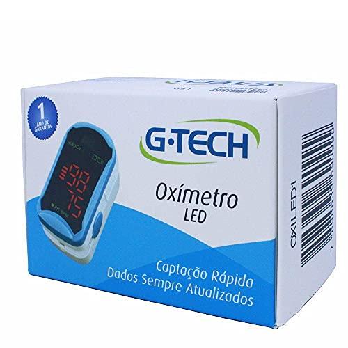 Oxímetro Digital De Dedo Com Estojo E Capa De Silicone