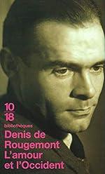 L'amour et l'Occident de Denis de Rougemont