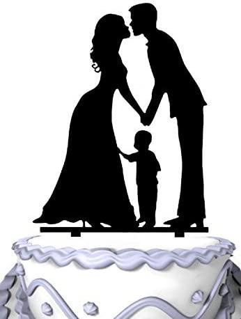 Meijiafei Bride Bargain sale and Groom New item with Little Cake Boy Top -Happy Family