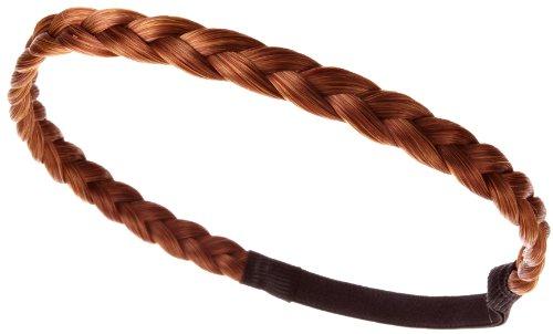 Love Hair Extensions Haarband geflochten Medium, Rich Strawberry Blonde