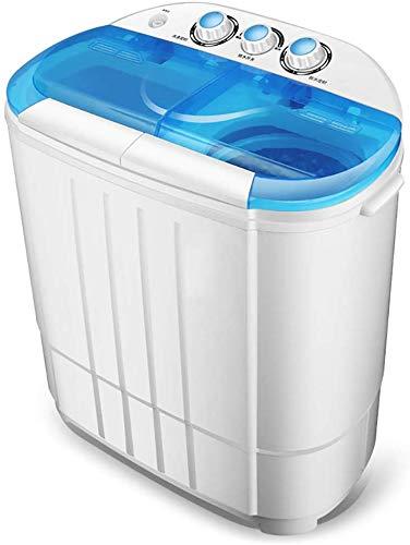 Lavadora Portátil, Hogar Lavadora Secadora 2 En 1, Se Puede Esterilizar Con Regularidad Y Azul Claro, Adecuado For La Familia De Apartamentos Dormitorio De Acampada/Azul