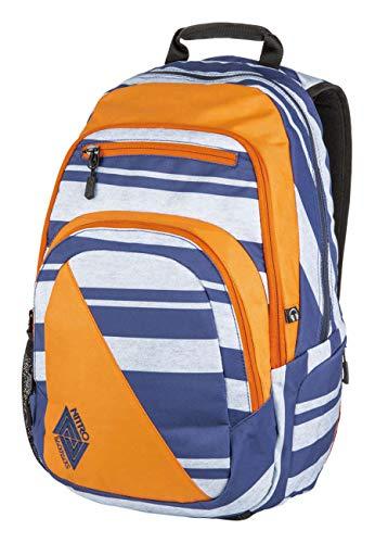 Nitro Stash Rucksack, Schulrucksack, Schoolbag, Daypack, Heather Stripe, 49 x 32 x 22 cm, 29 L