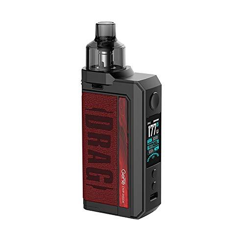 Kit original VOOPOO Drag Max 177W Caja MOD Vape y 4.5ml Pnp Pod Tank Fit PnP Carretes PnP Vaporizador electrónico de cigarrillos