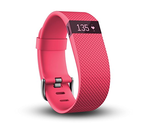 Image of the Fitbit Charge HR Wireless Activity Wristband (Pink, Small (5.4 - 6.2 in))
