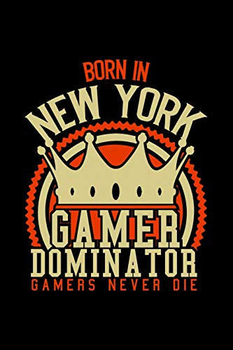 Born in Newport News Gamer Dominator: RPG JOURNAL I GAMING NOTEBOOK for Students Online Gamers Videogamers Hometown Lovers 6x9 inch 120 pages lined ... Gift for Video Gamers and City Kids, Graduat