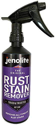 JENOLITE Rust Stain Remover - Simply Spray On and Wipe Clean - 500ml