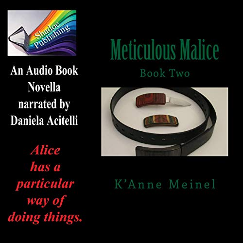 Meticulous Malice audiobook cover art