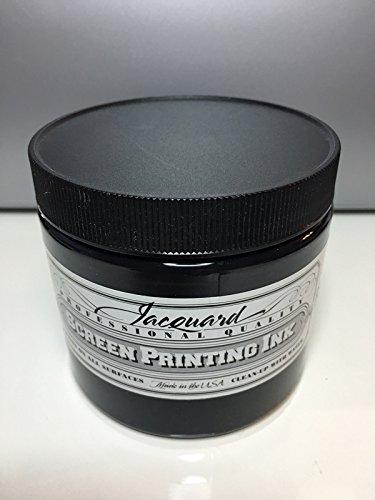 Jacquard Professional Screenprinting Ink - 117 Black 16 fl oz