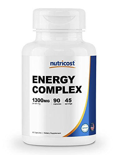 Super Energy Complex 90 Capsules Per Bottle 45 - 90 Servings (If taken according to recommendations) Easy To Take Vegetable Capsules Non-GMO, Gluten Free, and Made in A GMP Compliant, FDA Registered Facility