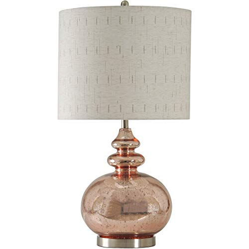StyleCraft Home Collection L311683DS Signature Table Lamp Gemvara Rose Gold