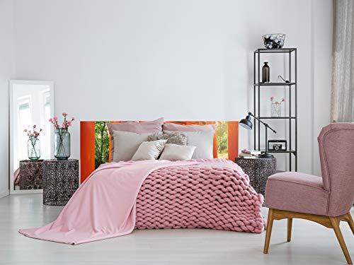 Cabecero Cama PVC Japón 135x60cm | Disponible en Varias Medidas | Cabecero Ligero, Elegante, Resistente y Económico