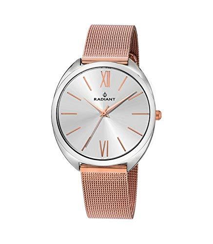 RADIANT Reloj Analógico para Mujer de Cuarzo con Correa en Acero RA420204