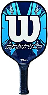 Wilson Profile Pickleball Paddle - Blue/Black