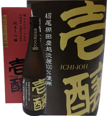 新潟県限定流通 壱醸 合鴨農法有機栽培米使用純米大吟醸720ml