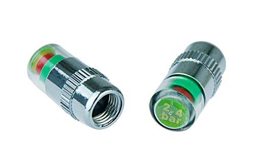 Kobert-Goods Reifenwächter Reifendruckventil Reifendrucksensor 2,4 bar für eine visuelle Druckluftüberwachung in Ihren Autoreifen