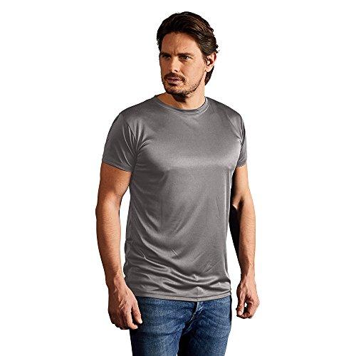 Promodoro Men's Performance-T-Shirt 100{fb837838c4f88fe88d16fa219600a3f9d15f3358abbd60ad6fe21e27048e137f} Polyester, 125 g/m Antipilling-Ausrüstung, UV-Schutz L Hellgrau