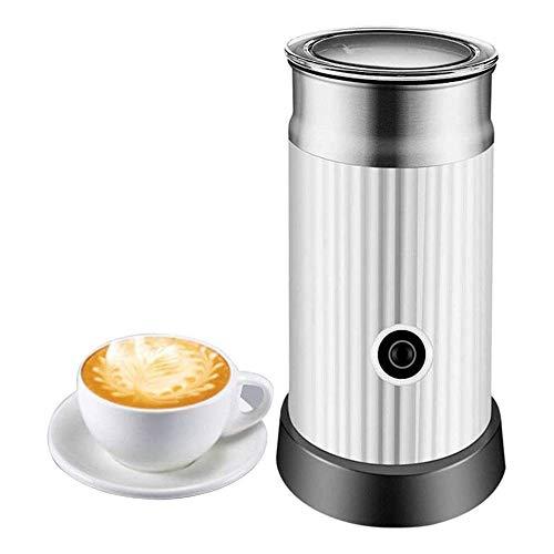 Montalatte Latte Frother, Latte Elettrico ugello con Caldo o Freddo Funzionalità, Schiuma caffè, Acciaio Inossidabile, Automatico Montalatte e più Caldo for Il caffè, Cappuccino e Macchiato WTZ012