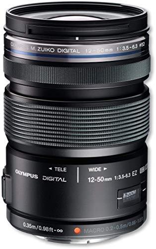 Olympus M.Zuiko Digital ED Objektiv (12-50mm 1:3.5-6.3 EZ) schwarz