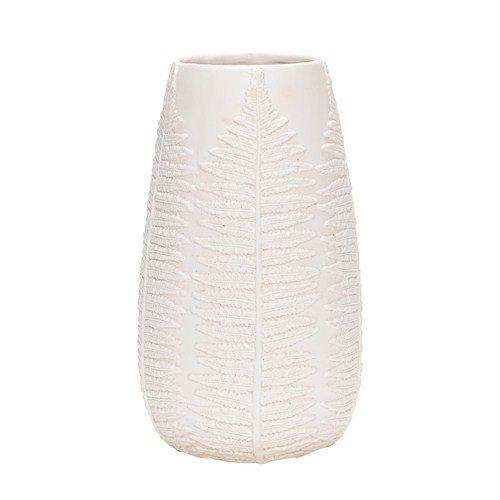 Hübsch Interior Vase mit Farnblatt Muster