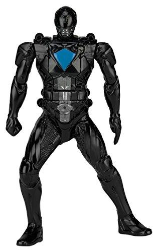 Power Rangers Bandai 42656Figur Funktion, super Morphin Ranger schwarz 18cm