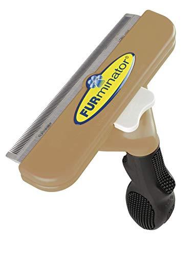 FURminator deShedding-Pflegewerkzeug für Pferde (Fellpflege-Striegel, besonders geeignet zum schonenden Auskämmen des Winterfells), 1 Stück