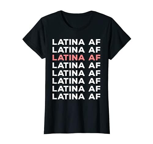 Damen Latina Südamerika Lateinamerika Salsa Tanz Party Outfit T-Shirt