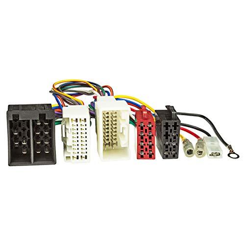 tomzz Audio 7337-001 T-Kabel ISO passend für Mitsubishi Pajero Outlander ASX ab 2007 zur Einspeisung von Freisprecheinrichtung ISO Verstärker für THB Parrot Dabendorf i-sotec Match